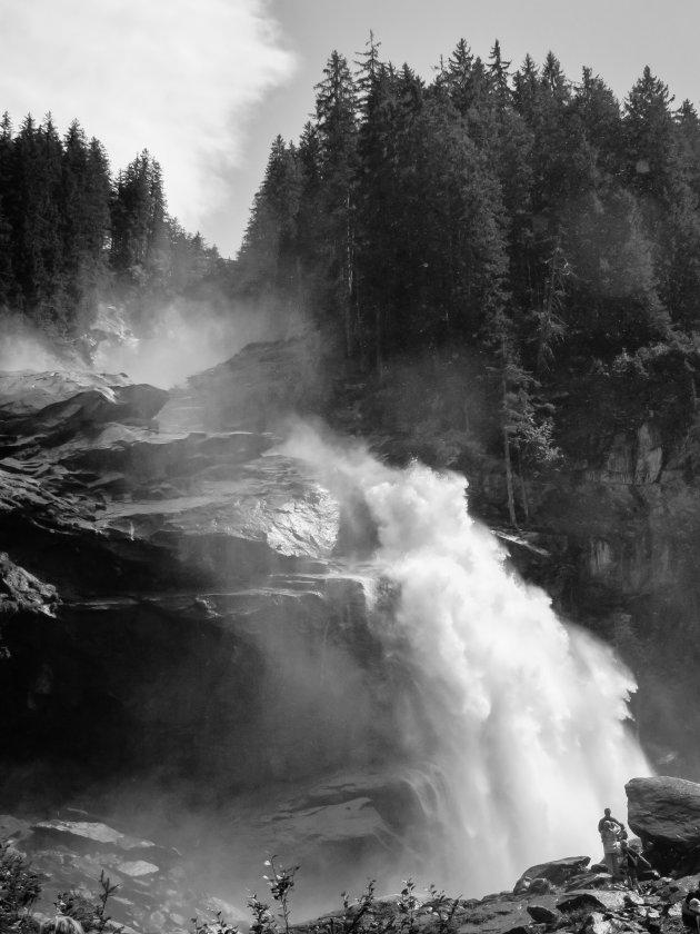 De Krimmller watervallen