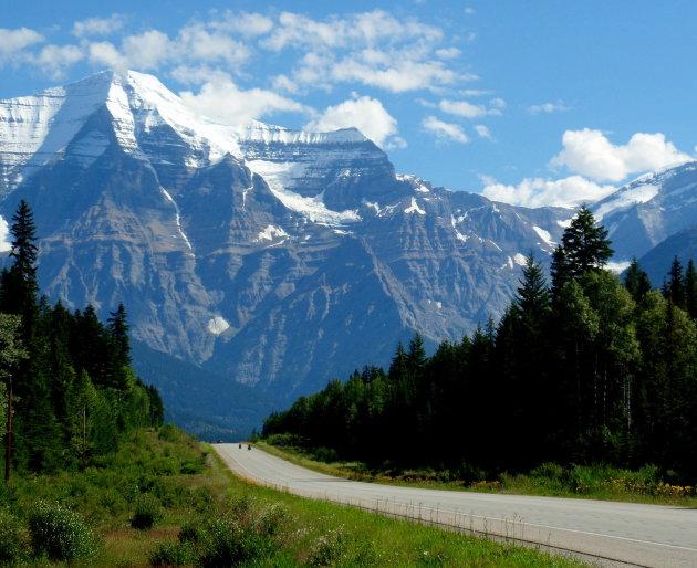 Mount Robson van top tot teen