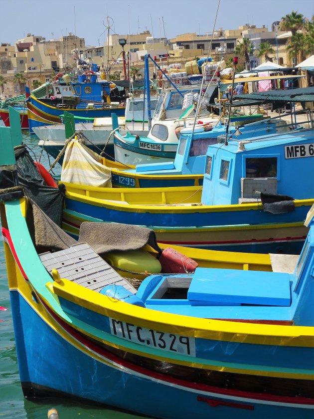 Kleurenpracht in Marsaxlokk