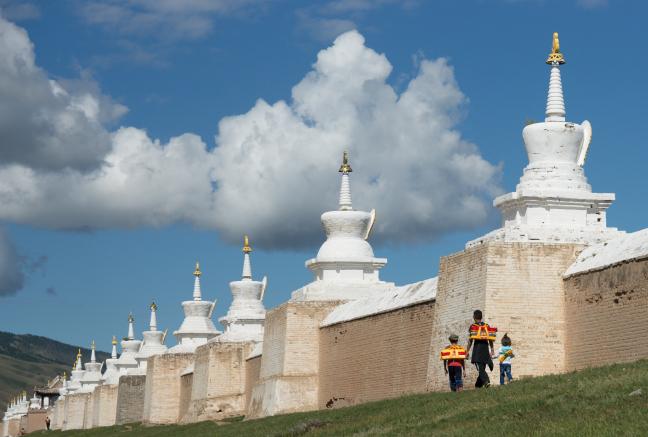 Rondje Stupa's