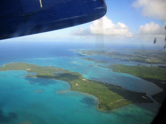 Dominica vanuit de lucht
