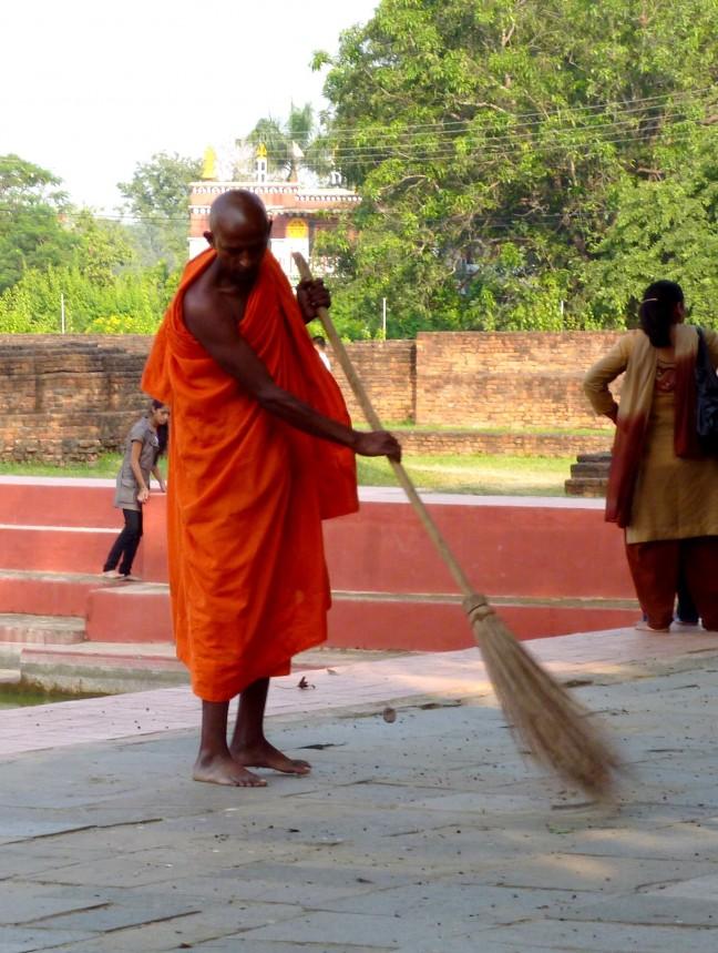 Lumbini is de geboorteplaats van de Boeddha