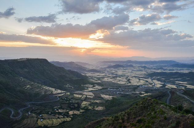 Uitzicht vanaf Ben Abeba
