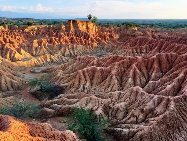 de Tatacoa woestijn