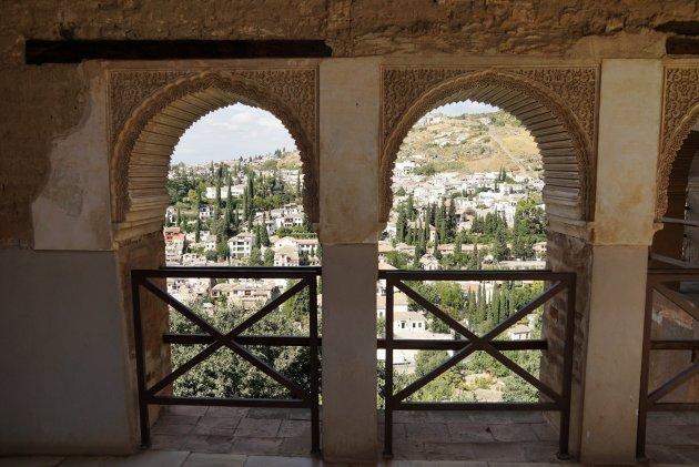 Doorkijkje op Granada