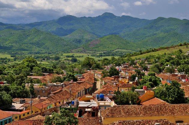 De daken van Trinidad