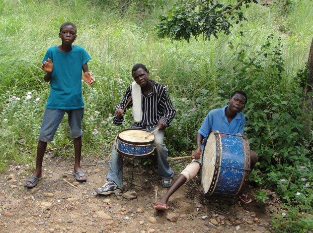 Lokale muzikanten