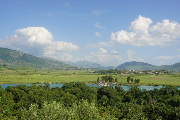 Uitzicht vanaf Butrint