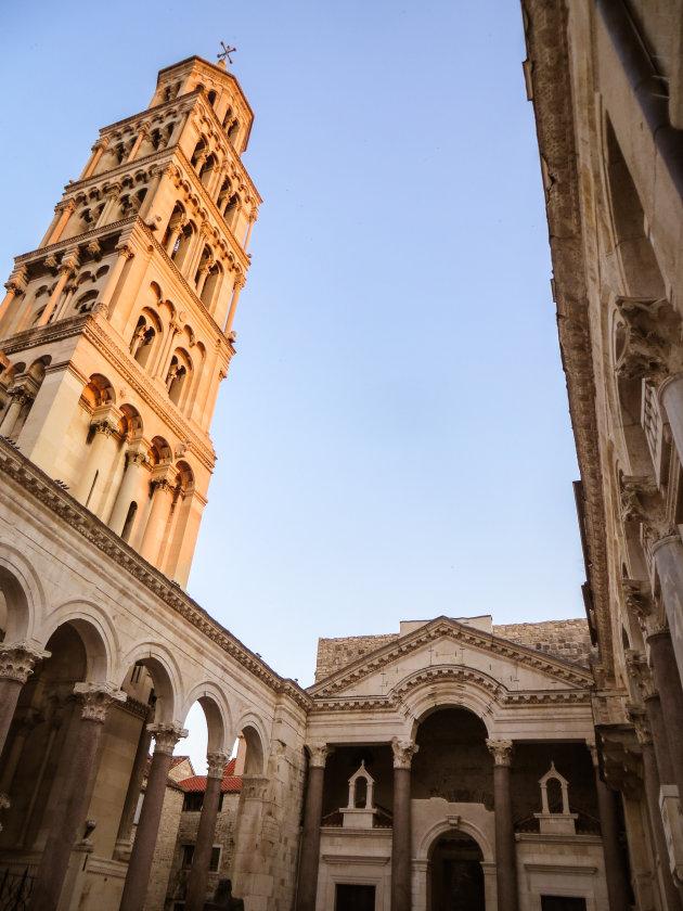 De kathedraal van Sint-Domnius in Split