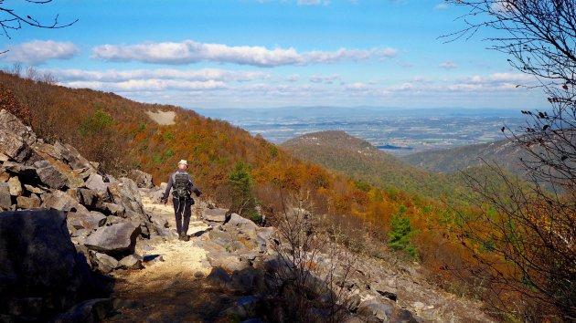 Loop een stukje van de Appalachen Trail