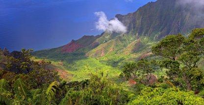 Kalalau Lookout op Kauai