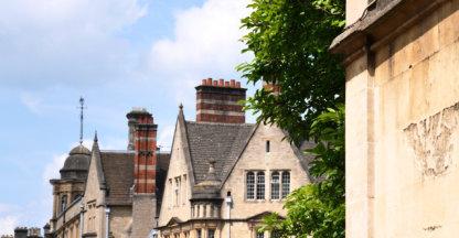 Straatje in Oxford