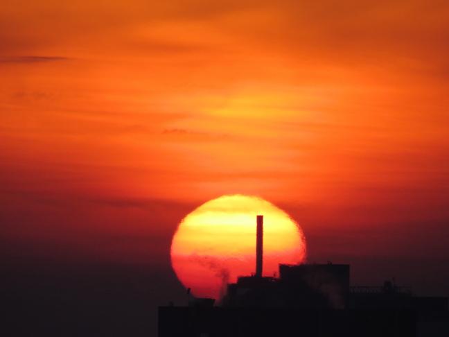 Ondergaande zon 2