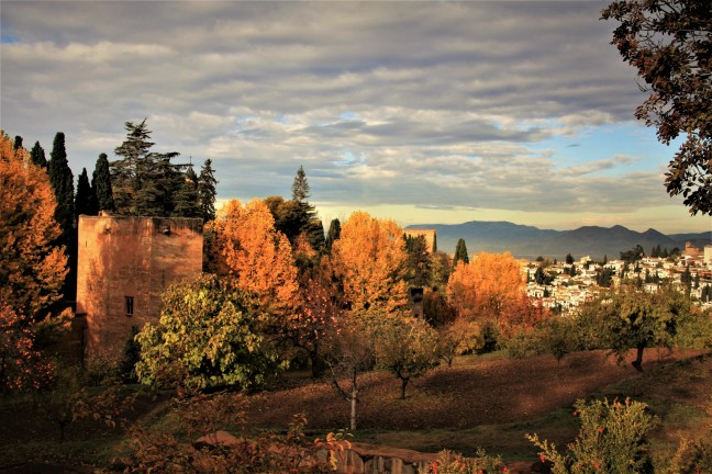 Herfst in Granada