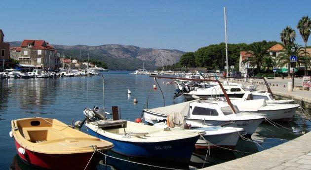 haventje van Stari Grad -Hvar