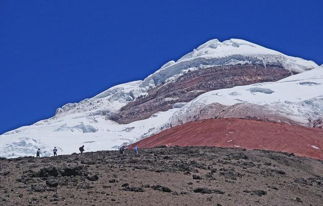 Op naar de top van de Cotopaxi