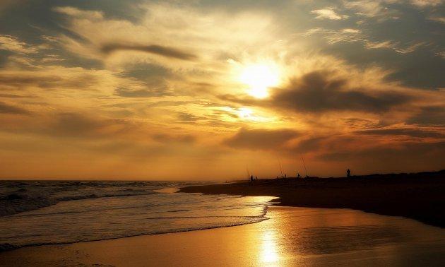 Goudgeel strand