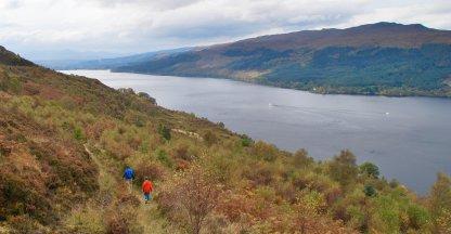 Zicht op Loch Ness
