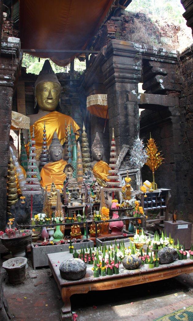 Hoofdtempel Wat Phou