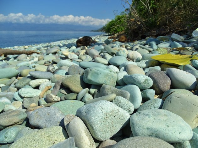 Bleu stone beach