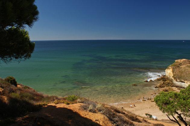 idyllisch strandje