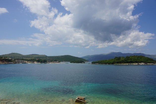 Blik op Corfu