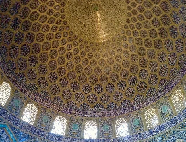 Koepel van de Sheikh Lotfollah Moskee