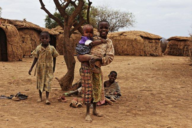 masaai kinderen
