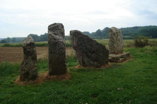 Menhirs in Weris