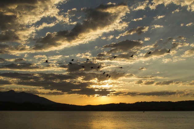 LAGO SUCHITLAN @sunset
