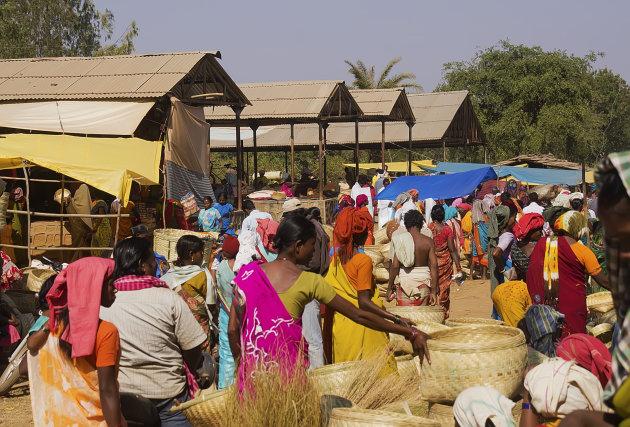 Markt in Jagdalpur