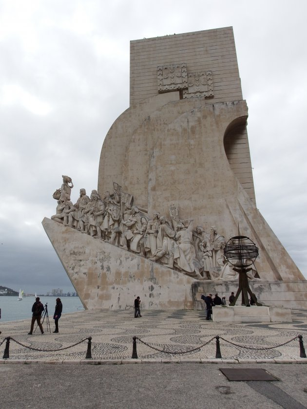 Het Padrão dos Descobrimentos – Lissabon – op ontdekkingsreis