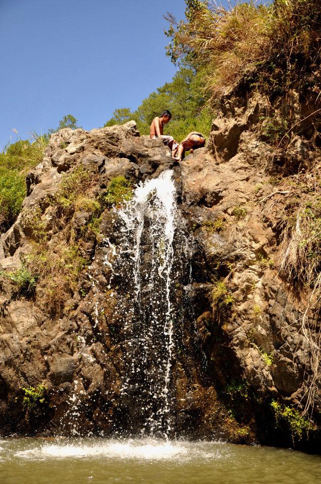 Watervallen op Luzon