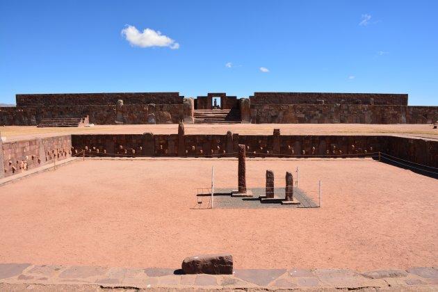 De Verzonken Tempel van Tiahuanaco
