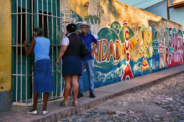 Begin de dag goed in Trinidad