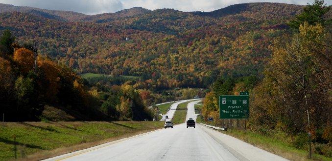 Roadtrip door New England