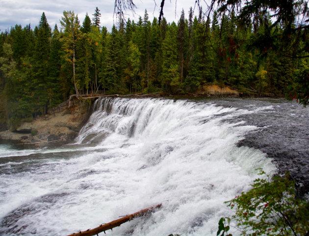 Watergeweld bij Dawson Falls