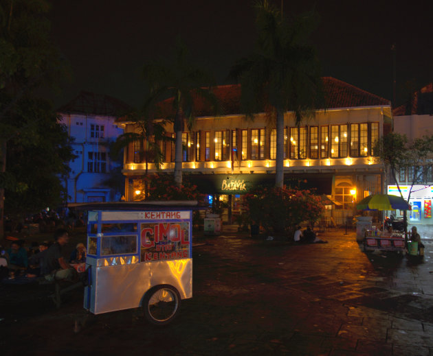 Sfeer proeven in Batavia Café Jakarta