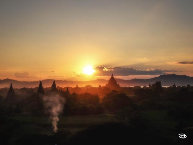 Sunset @ Bagan