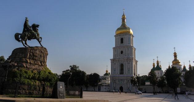 Sint-Sofiakathedraal, in Kiev