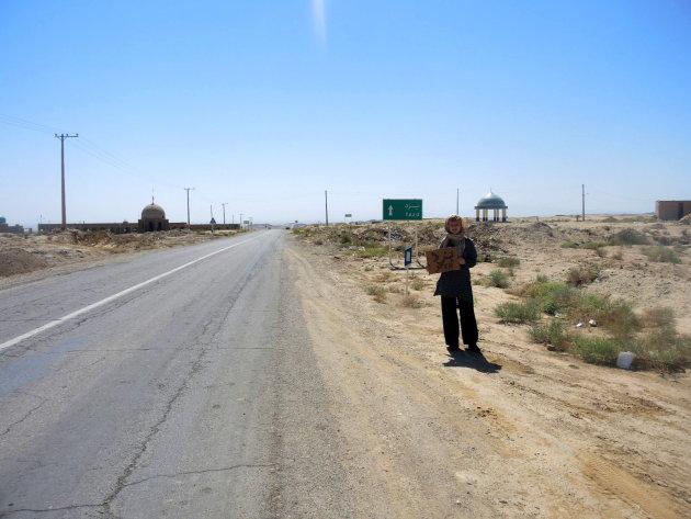 Liften door de woestijn