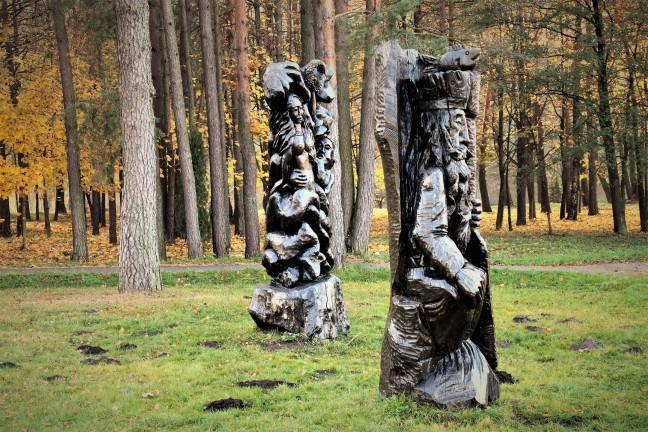Sprookjesachtige beelden in Druskininkai