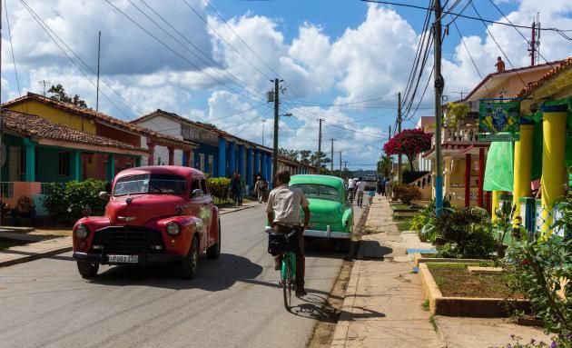 Kleurrijk straatje