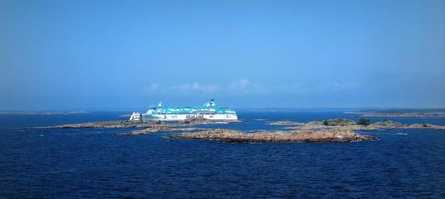 Veerboot naar de Alandsarchipel