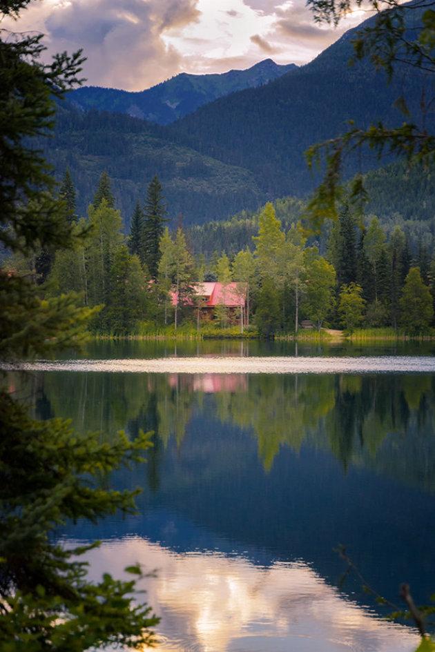 Reflectie van Eleanor Lake