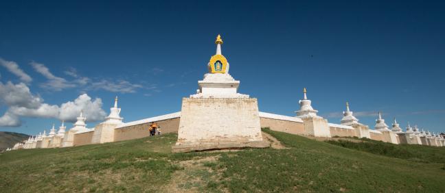 108 Stupa's
