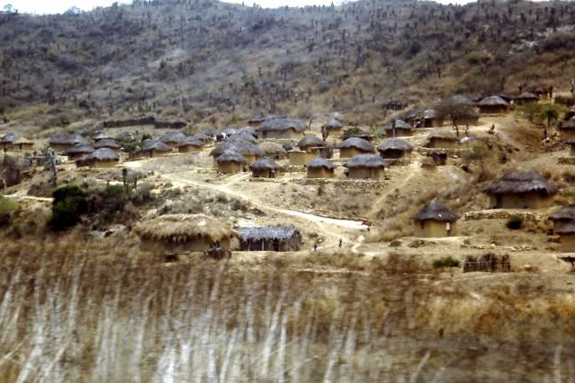 Afrikaans dorpsleven