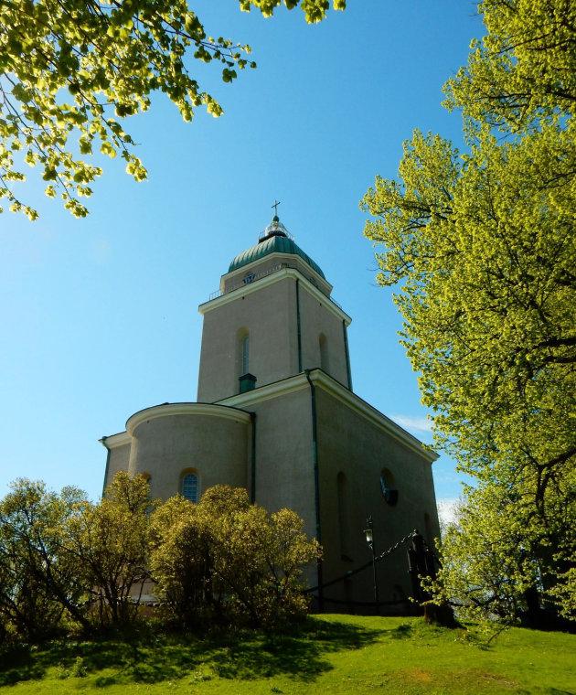 De Kerk van Suomenlinna