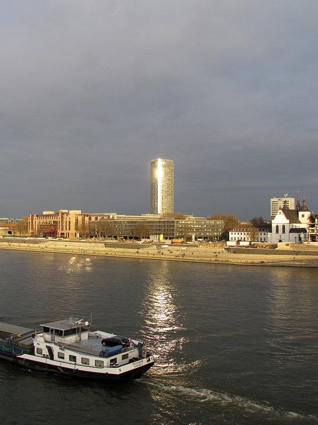 winterzonnetje op de Rijn