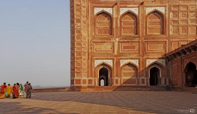Rondom de Taj Mahal
